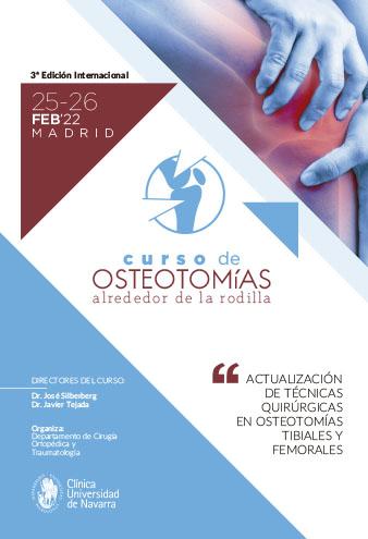 portada programa curso de osteotomizas